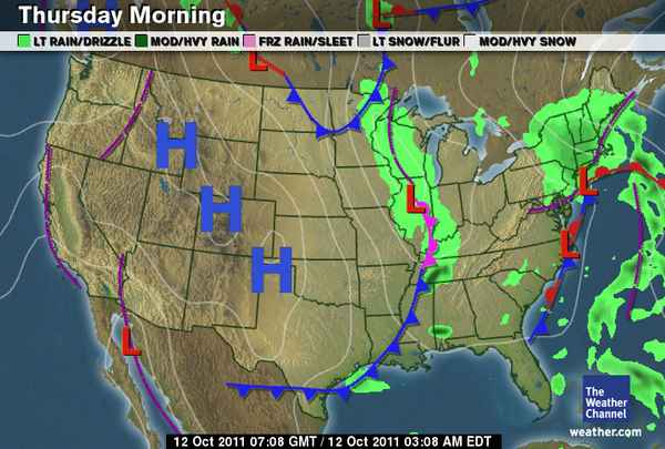 Predicting Weather Using Maps – Ms. Friedman